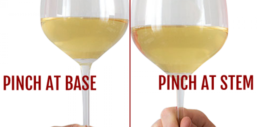 Cách cầm ly rượu vang đúng chuẩn chuyên gia