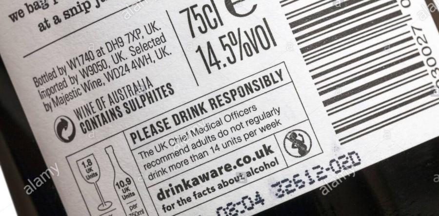 Tại sao nồng độ cồn trên nhãn chai rượu vang lại nói dối với bạn ?