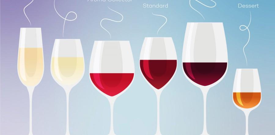 6 Loại ly giúp bạn cai trị thế giới rượu vang