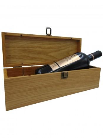 hộp gỗ xoan đào 1 chai cao cấp 2