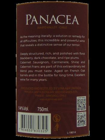thông tin chai ALYAN Panacea