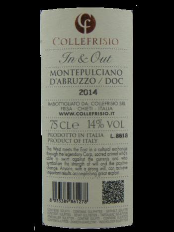 thông tin rượu vang Collefrisio In & Out