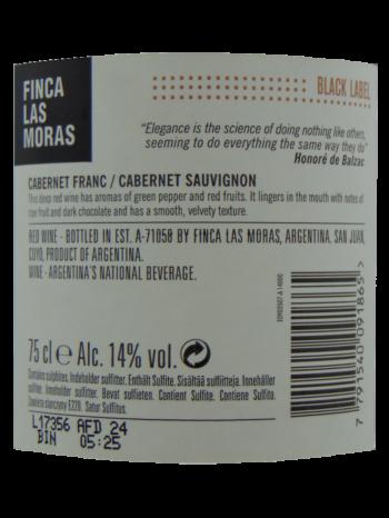 Thông tin rượu vang Las Moras Black Lable