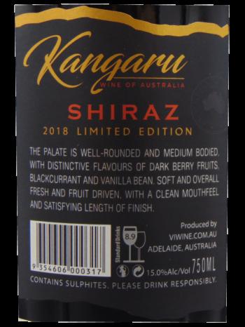 Thông tin rượu vang KANGARU LIMITED EDITION