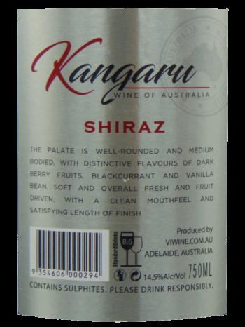 Thông tin rượu vang Kangaru Shiraz