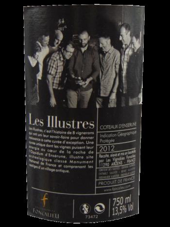 Thông tin rượu vang The Illustrious - Coteaux d'Ensérune 2012