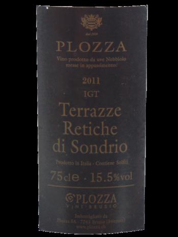 Thông tin rượu vang Plozza Nebbiolo Terrazze Retiche di Sondrio
