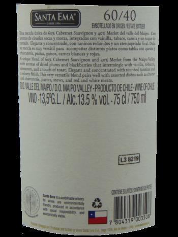 Thông tin rượu vang Santa Ema Barrel