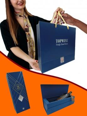 Hộp Giấy Topwine Lux