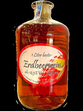Rượu vang Dâu Tây - Erdbeerwein