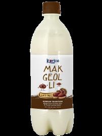 Rượu Korice Makgeolli hạt dẻ 750ml
