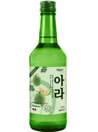 Rượu Soju Korice Hương Dưa Lưới 12% chai 360ml