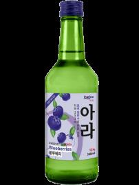 Rượu Soju Korice Hương Việt Quất 12% chai 360ml
