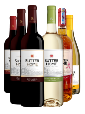 Sutter Home Combo 6 chai