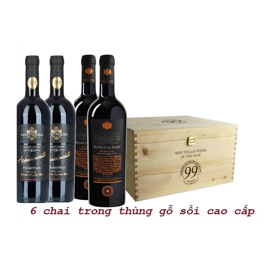Rượu vang đỏ cao cap