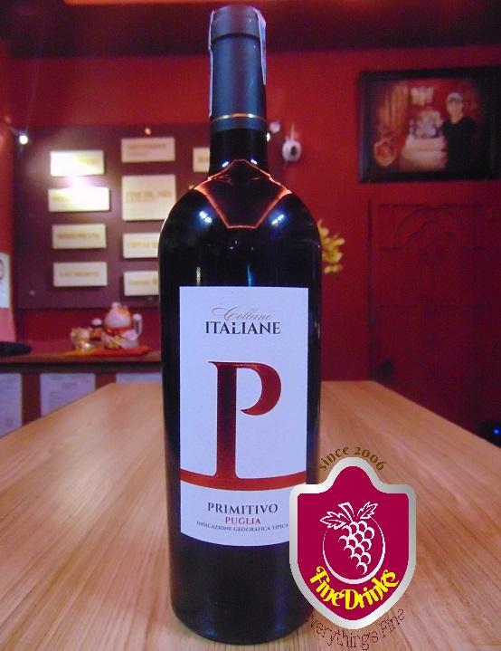 Rượu Vang P Primitivo