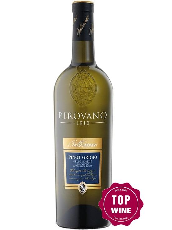 Rượu vang Pirovano Pinot Grigio