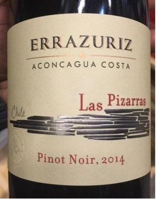 Errazuriz Pinot Noir Las Pizarras