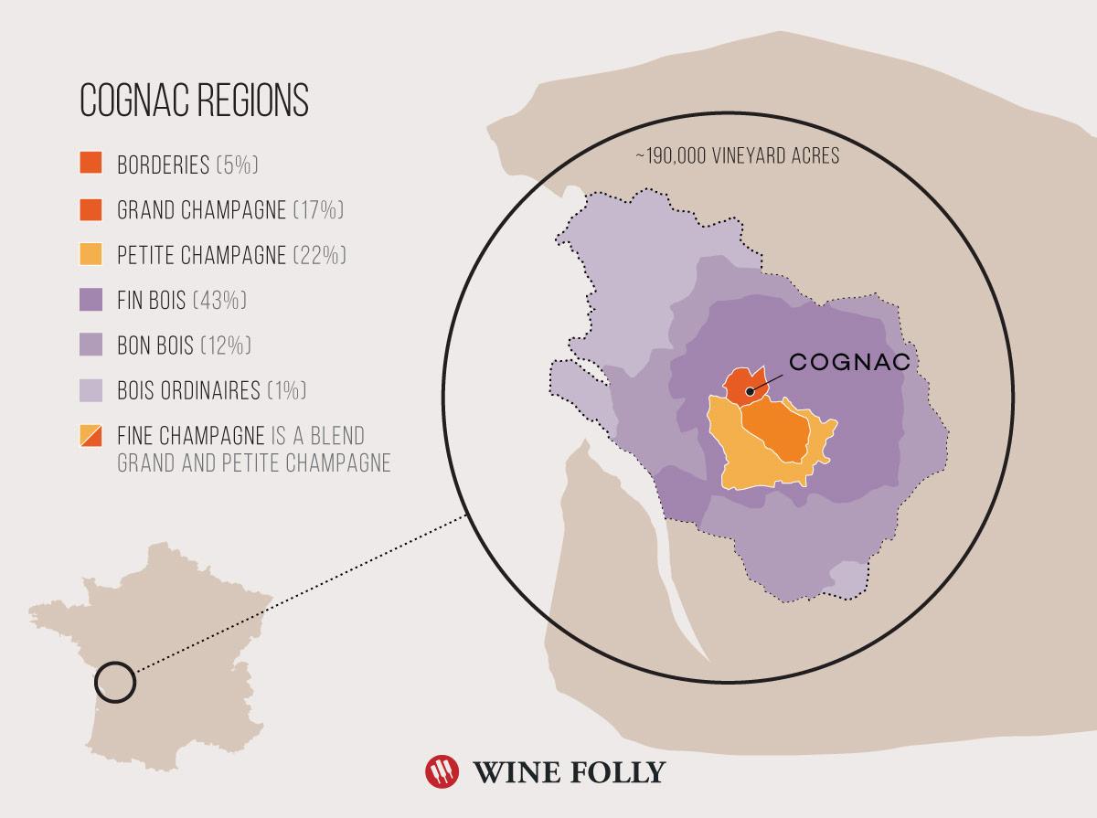 bản đồ cognac