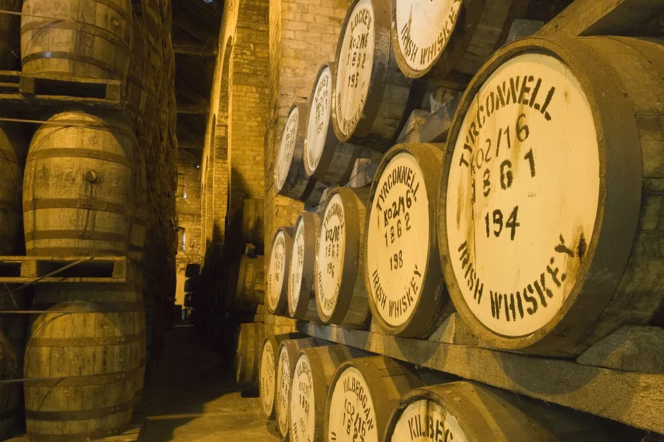 Rượu whisky ireland