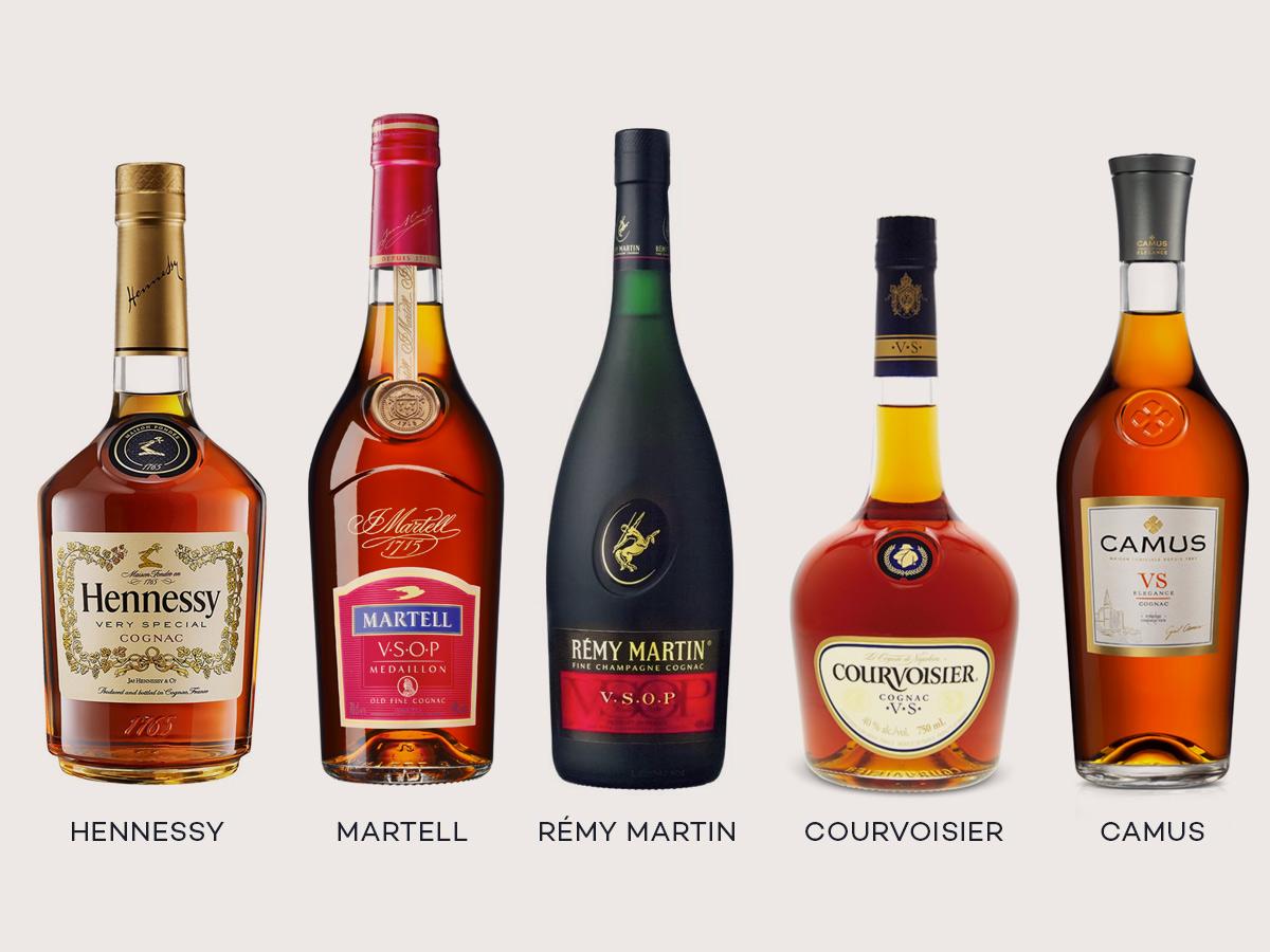 cac loai ruou cognac